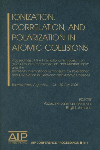 Ionization, Correlation, and Polarization in Atomic Collisions: Proceedings of the International Symposium on (e,2e), Do
