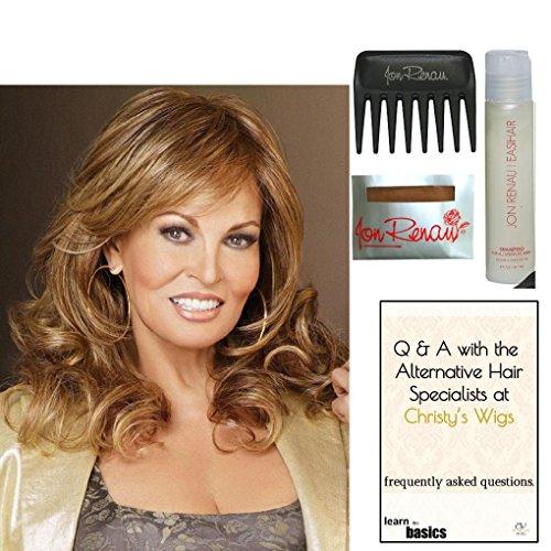 Bundle - 5 items: Always Wig by Raquel Welch, Christy's Wigs Q & A Booklet, Wig Shampoo, Wig Cap & Wide Tooth Comb from Raquel Welch, Jon Renau & Christy's Wigs