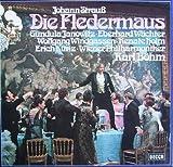 Karl Böhm & Wiener Philharmoniker / Gundula Janowitz / Eberhard Wächter / Wolfgang Windgassen / Renate Holm / Erich Kunz u.a. Strauss: Die Fledermaus (Gesamtaufnahme) [Vinyl Schallplatte] [2 LP Box-Set]