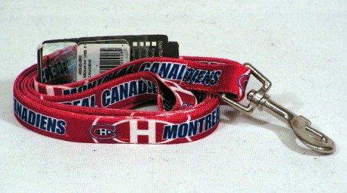 Nhl Montreal Canadiens Pet Lead, Team Color, Medium front-898439
