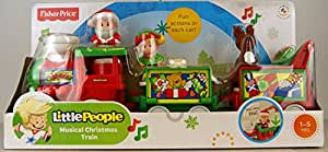 Fisher-Price Little People Musical Christmas Train