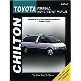 Toyota Previa (1991-97) Repair Manual (Chilton Total Car Care)by Chilton Automotive Books