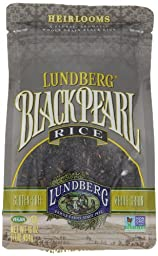 Lundberg Black Pearl Rice, 16 Ounce (Pack of 6)