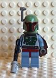 LEGO Star Wars Boba Fett Mini Figure - New Design with Cape & Blaster