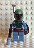 LEGO Star Wars Boba Fett Mini Figure - New Design with Cape & Blaster