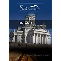 Naxos Scenic Musical Journeys Finland A Musical Tour of Helsinki and the Finnish Landscape