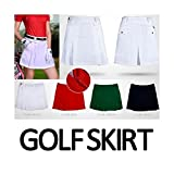 My Vision ゴルフ スカート 女性 スポーツウェア GOLF (L ブラック) MV-GO-BK-L