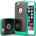 iPhone 6 Case, Caseology [Frostback Clear] Apple iPhone 6 (4.7 inch) Case [Flexible Cushion] [Turquoise Mint] Full Button Protection Bumper [Shock Absorbent] Armor iPhone 6 Case [Made in Korea] (for Apple iPhone 6 Verizon, AT&T Sprint, T-mobile, Unlocked)