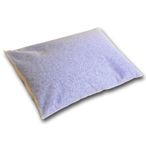 日本製 洗える パイプまくら 43×63cm ブルー スタンダードパイプ バージンパイプ使用