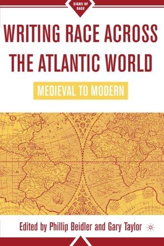 Writing Race Across the Atlantic World, 1492-1789