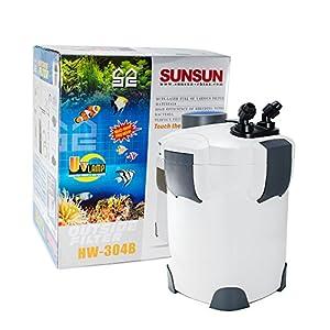 New 200 gallon aquarium external canister for 5 gallon fish tank filter