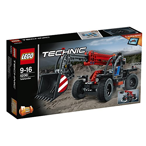 レゴ (LEGO) テクニック テレハンドラー 42061