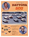 16th Annual 1974 Daytona 500 Canvas 22 x 30 Program Print – Mounted Memories Certified – Original…