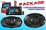 PACKAGE ! Pioneer AVH-X1600DVD DVD Receiver + Pioneer TS-A6965R Car Speakers