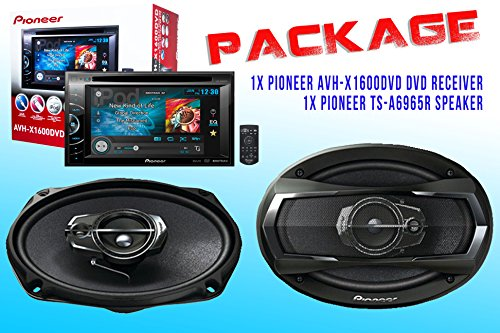 Package ! Pioneer Avh-X1600Dvd Dvd Receiver + Pioneer Ts-A6965R Car Speakers