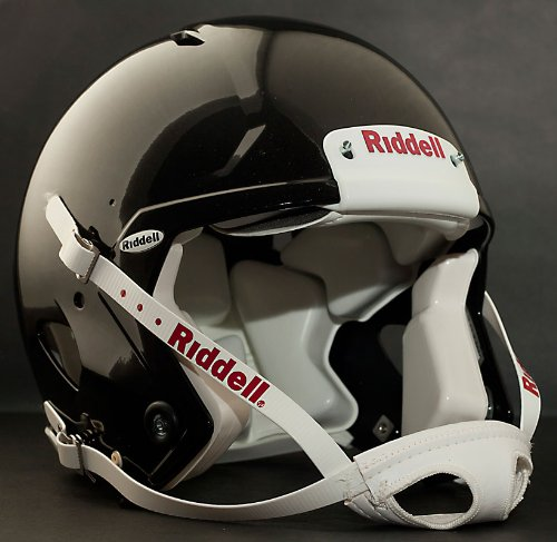 Riddell Revolution SPEED Classic Football Helmet (Color: GLOSS BLACK)