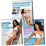 James Duigan Clean & Lean Diet 3 Cookbook Collection James Duigan Set (The Clean & Lean Cookbook, Clean & Lean Flat Tummy Fast!, The Clean & Lean Diet)