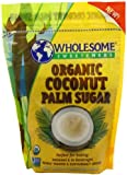 Wholesome Sweeteners Organic Coconut Sugar, Super Saver Pack 48-ounces