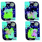 Glow In The Dark - Colourful Decoration Set