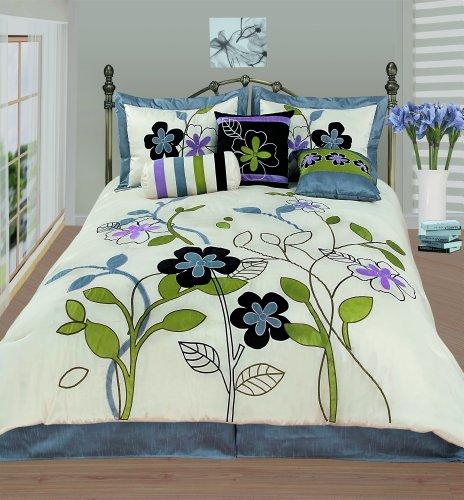 Wellington And Castle Milan 7-Piece Comforter Set, Queen front-11172