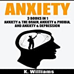 Anxiety: 3 Books in 1: Anxiety and the Brain, Anxiety and Phobia, & Anxiety and Depression | K. Williams