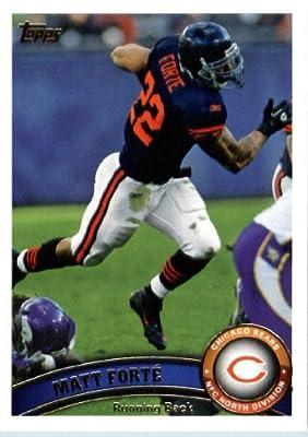 2011 Topps Football Card #379 Matt Forte - Chicago Bears - NFL Trading Card