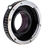 Quenox Fokalreduktor-Adapter (Objektivadapter, Focal Reducer Speed Booster) Canon EOS EF - Micro Four Thirds (MFT) - z.B. für für Panasonic Lumix DMC G6 G5 G3 G2 GF6 GF5 GF3 GF2 GF1 GH3 GH2 GH1 GX7 GX1 GM1 Olympus Pen OM-D E-M5 E-PL6 E-PL5 E-PL3 E-P5 E-P3 E-PM2 E-PM1