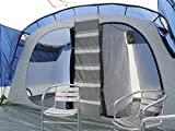 Skandika-Nimbus-12-Personen-Familien-Zelt-blau-wasserdicht-durch-starke-5000-mm-Wassersule-Groes-gerumiges-und-robustes-Steilwand-Zelt-Tunnel-Zelt-mit-Insekten-Netzen-und-ber-2-m-Stehhhe