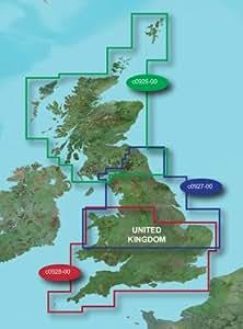 Garmin Carte cartographie Région Grande Bretagne pour Angleterre du Sud / Wales