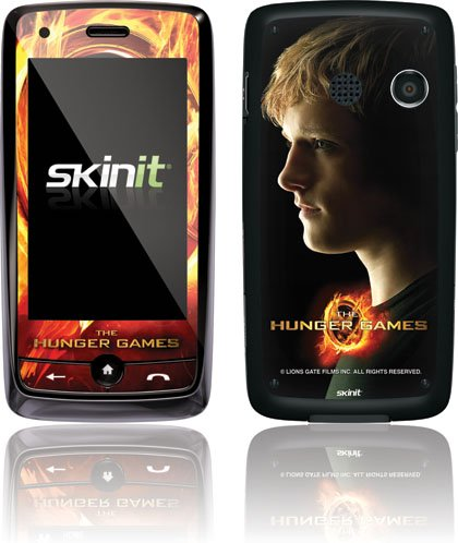 Skinit The Hunger Games -Peeta Mellark Vinyl Skin for LG Rumor Touch LN510/ LG Banter Touch