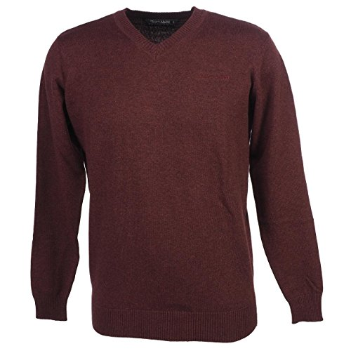 Teddy Smith -  Maglione  - Uomo bordeaux 2XL
