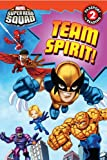 img - for Super Hero Squad: Team Spirit! (Passport to Reading Level 2) book / textbook / text book