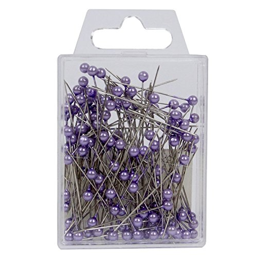 FloristryWarehouse Pearl Headed 1.5 inch Florist's Pins x 144 Lilac