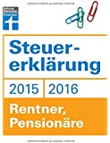 Steuererklärung 2015/2016 - Rentner, Pensionäre