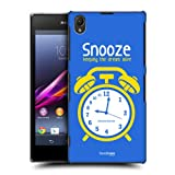 Head Case Snooze Procrastinators Hard Back Case Cover For Sony Xperia Z1 C6902