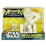 Attacktix Battle Figure Game Star Wars Battle Masters - Luke Skywalker And Wampa