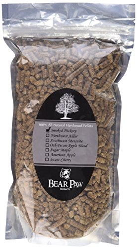 Bear Paw Products Premium Hickory Wood Smoker Pellets 1 5