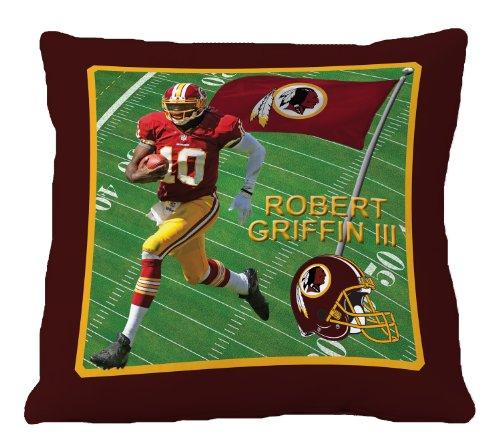 Nfl Biggshots Bedding - Washington Redskins Robert Griffin Iii Toss Pillow, 18-Inch front-862114