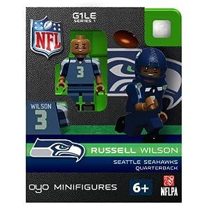 NFL Seattle Seahawks Russell Wilson Figurine