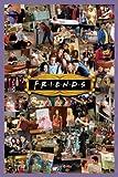 Friends Montage TV Maxi Poster Print - 61x91 cm