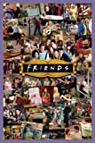 Friends Montage TV Maxi Poster Print - 61x91 cm