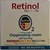 Retinol Q10 + C + O2 Oxygenating Cream Self-tanning Day Cream