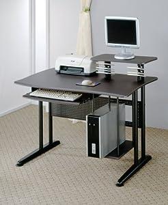 Coaster Metal Home Office Computer Workstation Desk, Black