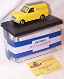 Oxford road show british telecom yellow van limited edition 1.43 scale diecast model