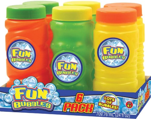 Fun Bubbles 4oz. 6 Pack - Buy Fun Bubbles 4oz. 6 Pack - Purchase Fun Bubbles 4oz. 6 Pack (Ja-Ru, Toys & Games,Categories,Activities & Amusements,Bubbles)