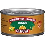 GENOVA TONNO OLIVE OIL, 24 pack of 5 oz cans