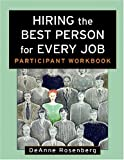 img - for Hiring the Best Person for Every Job, Participant Workbook book / textbook / text book