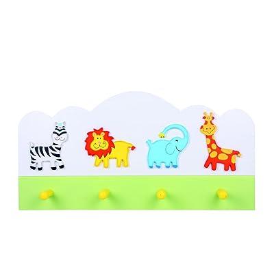 Animal background safari coat hooks (Zebra, lion, Elephant, Giraffe) - LIMITED STOCK