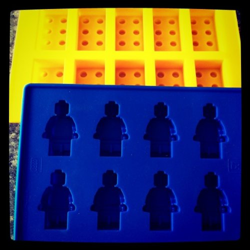 Best Review Of Building Bricks and Minifigure Ice Cube Tray or Candy Mold --for Lego lovers