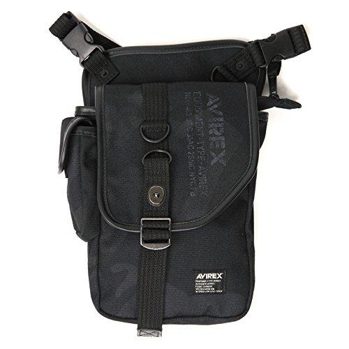 (アビレックス) AVIREX イーグルシリーズ リミテッドエディション「レグ&ショルダーバッグ」ブラックカモ F Black_Camo AVX348LC